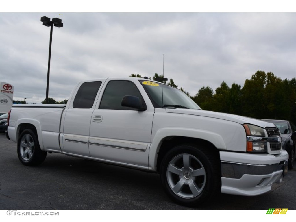 2004 summit white chevrolet silverado 1500 lt extended cab 97604399 photo 12. Black Bedroom Furniture Sets. Home Design Ideas