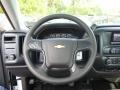Jet Black Steering Wheel Photo for 2015 Chevrolet Silverado 1500 #97620367