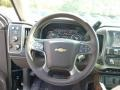 Cocoa/Dune Steering Wheel Photo for 2015 Chevrolet Silverado 1500 #97622947