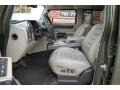 Wheat Front Seat Photo for 2003 Hummer H2 #97654498