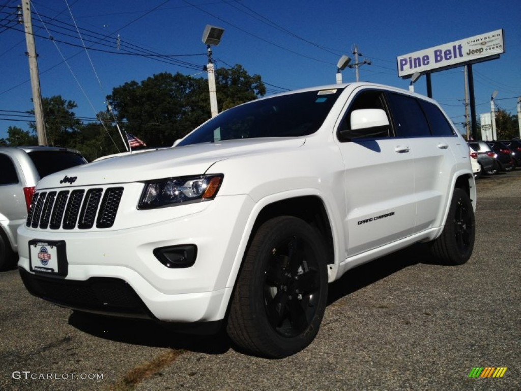 2015 bright white jeep grand cherokee altitude 4x4 97645399 car color galleries. Black Bedroom Furniture Sets. Home Design Ideas