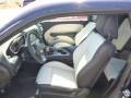 2015 Dodge Challenger Black/Pearl Interior Front Seat Photo