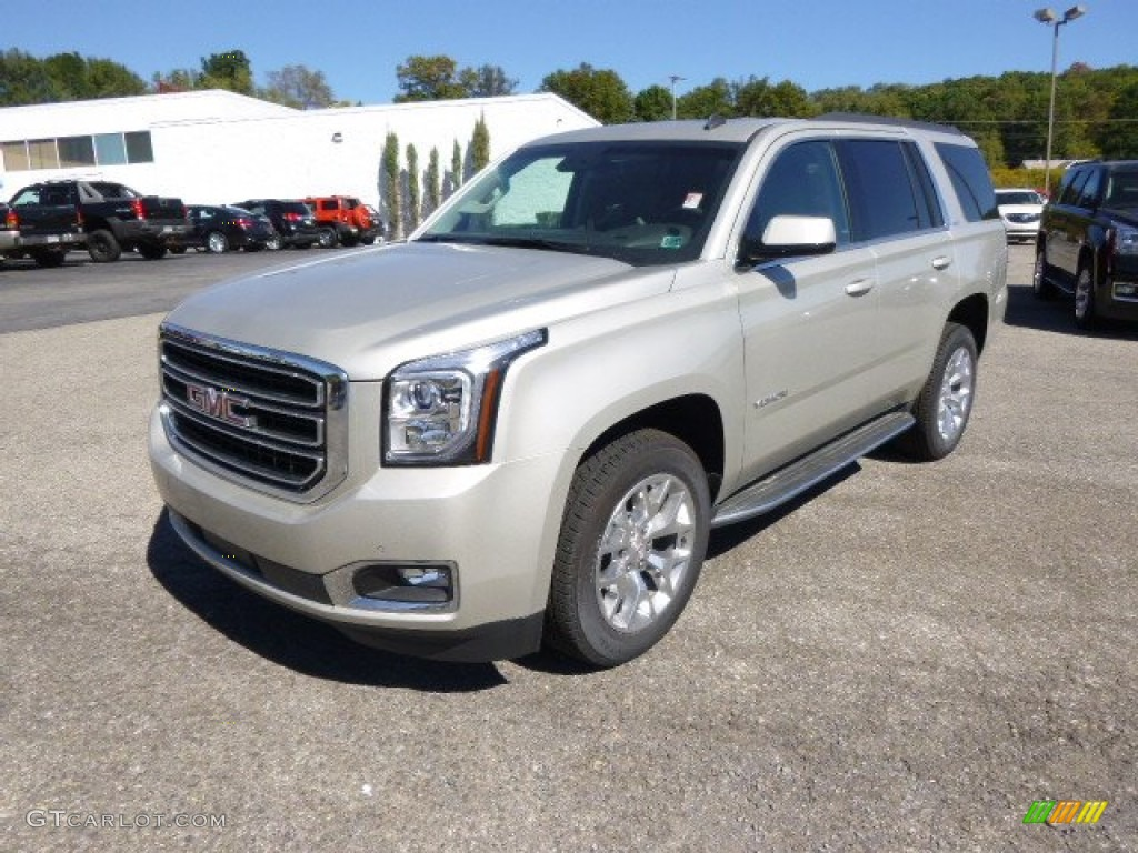 2015 champagne silver metallic gmc yukon slt 4wd 97645667 car color galleries. Black Bedroom Furniture Sets. Home Design Ideas