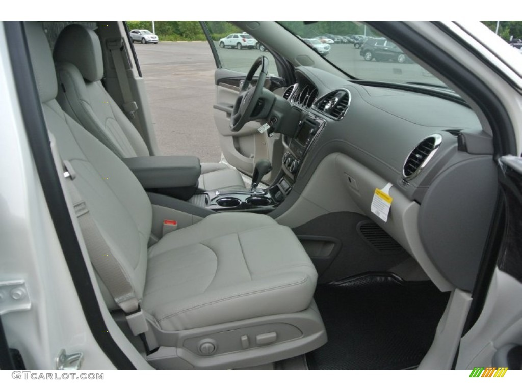 2015 White Diamond Tricoat Buick Enclave Leather 97645919 Photo 22 Car Color