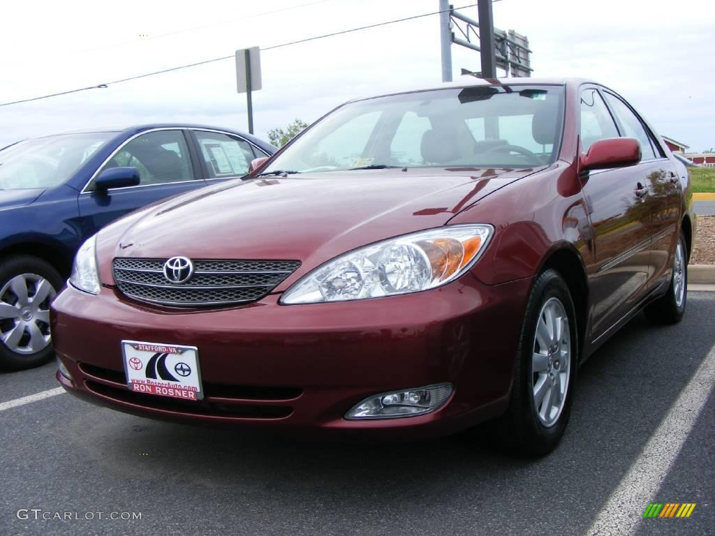 2003 salsa red pearl toyota camry xle 9760739 car color galleries. Black Bedroom Furniture Sets. Home Design Ideas
