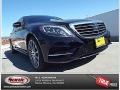 Black 2015 Mercedes-Benz S 550 Sedan