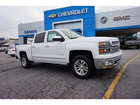 2015 Chevrolet Silverado 1500 LTZ Crew Cab Data, Info and Specs