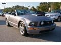 2007 Alloy Metallic Ford Mustang GT Premium Convertible  photo #3