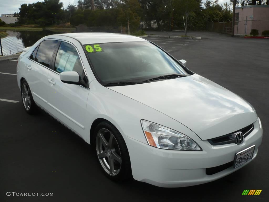2005 Taffeta White Honda Accord Lx Sedan 963412