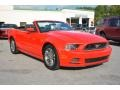 2014 Race Red Ford Mustang V6 Premium Convertible #97824658