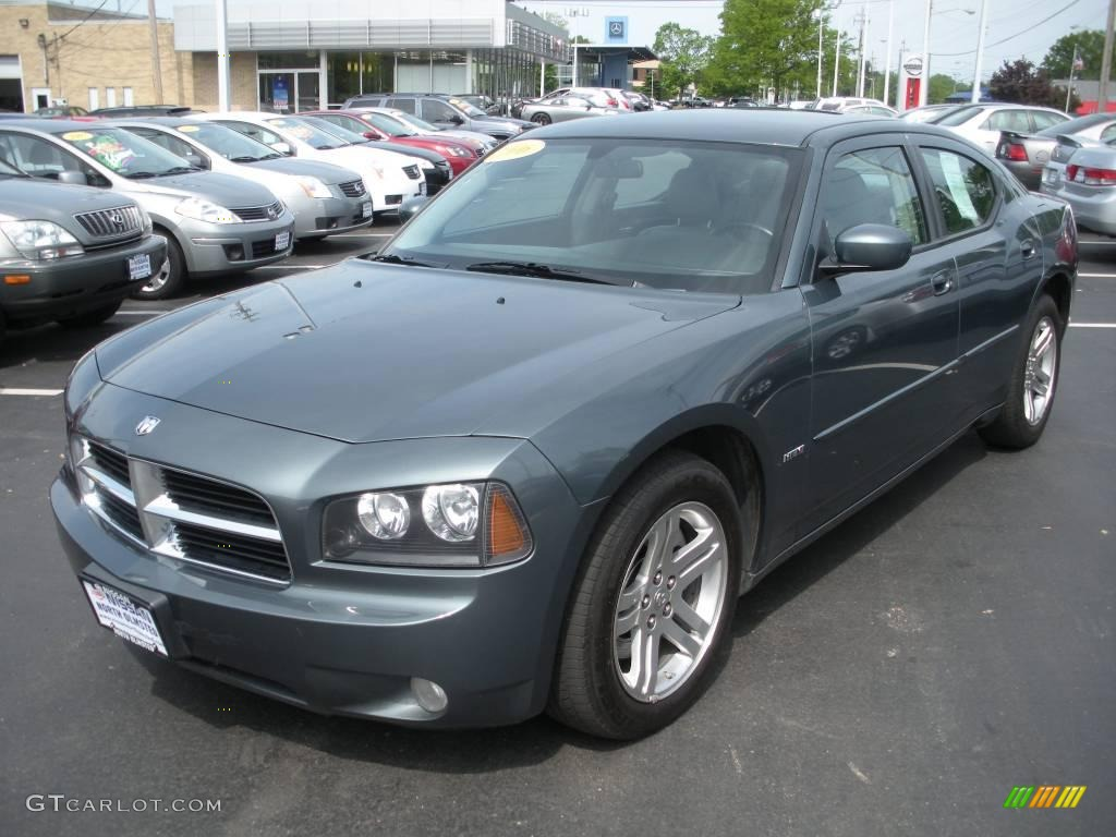 2006 charger r t magnesium pearlcoat dark slate gray light graystone photo