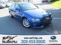 Aruba Blue Pearl Effect 2009 Audi A4 2.0T Premium quattro Sedan