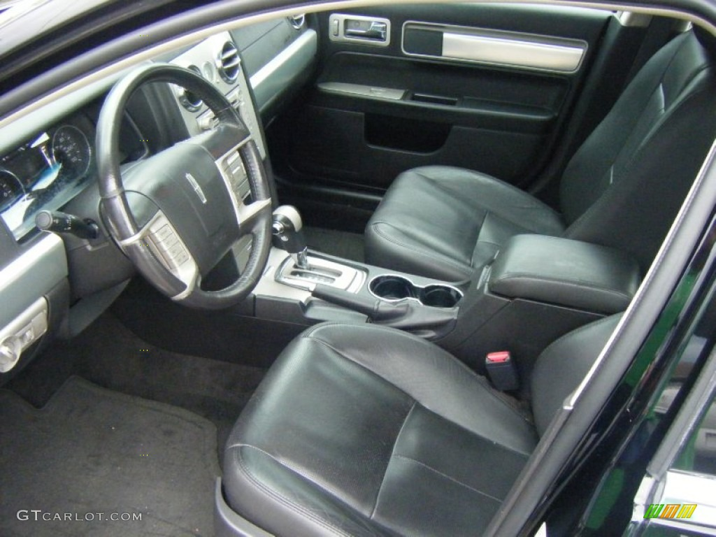 2008 MKZ AWD Sedan - Black / Dark Charcoal photo #10