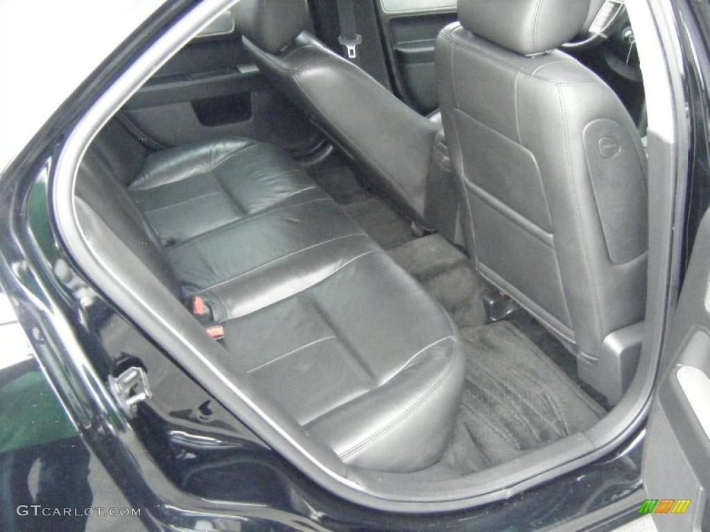 2008 MKZ AWD Sedan - Black / Dark Charcoal photo #16