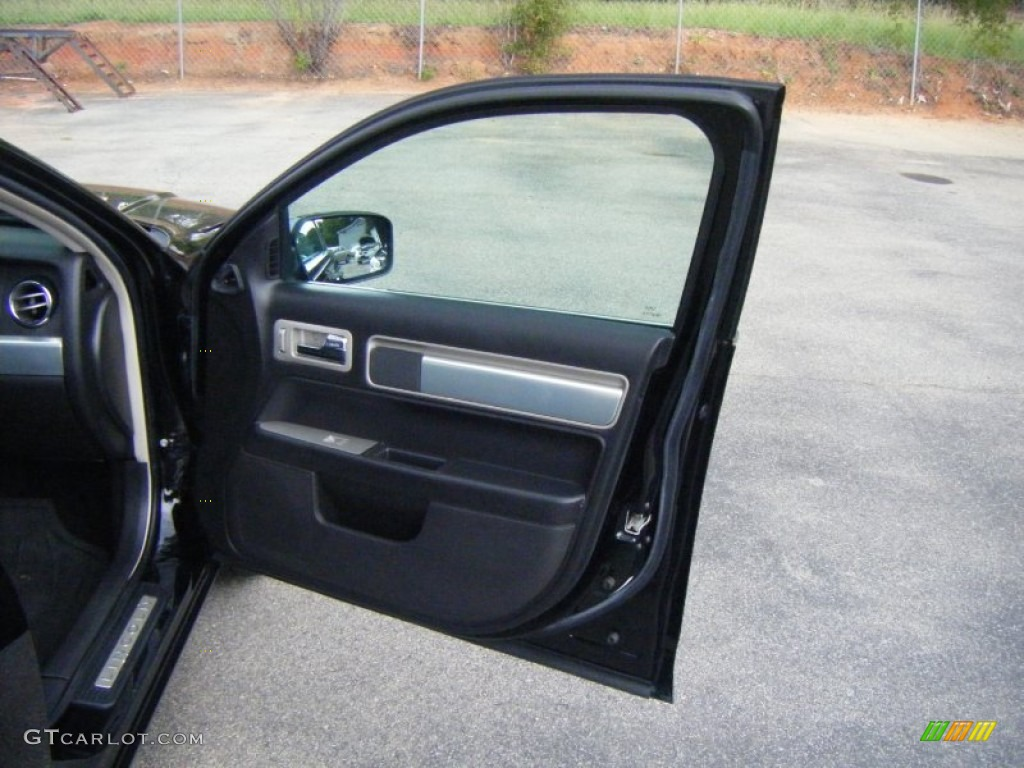 2008 MKZ AWD Sedan - Black / Dark Charcoal photo #17