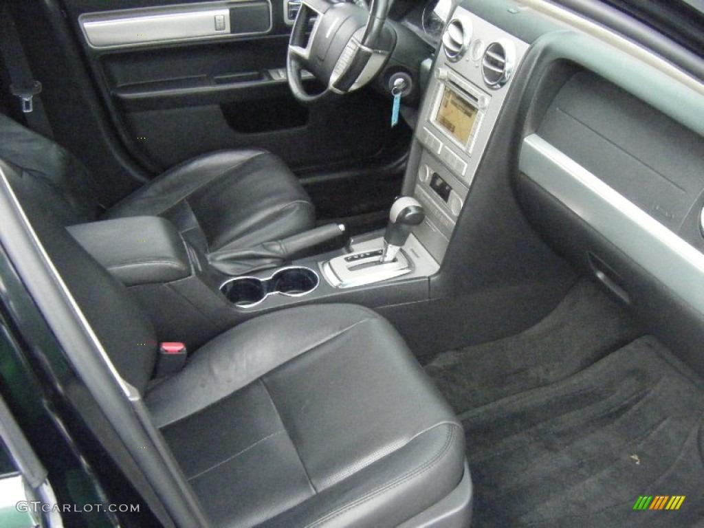 2008 MKZ AWD Sedan - Black / Dark Charcoal photo #18