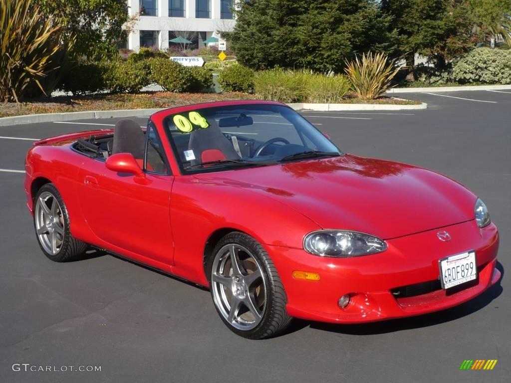 2004 velocity red mica mazda mx 5 miata mazdaspeed roadster 963417 car color. Black Bedroom Furniture Sets. Home Design Ideas