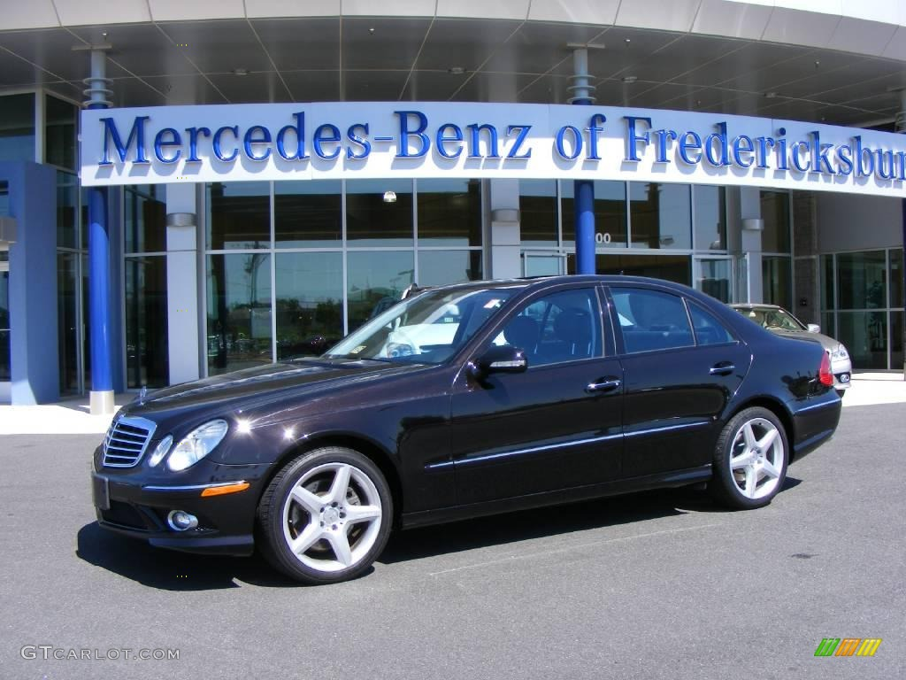 2007 designo mocha black metallic mercedes benz e 350 for Mercedes benz e350 black