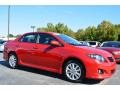 Barcelona Red Metallic 2010 Toyota Corolla S