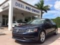 Night Blue Metallic 2012 Volkswagen Passat TDI SE