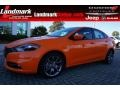 2014 Header Orange Dodge Dart SXT #97971472