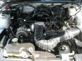 2007 Satin Silver Metallic Ford Mustang V6 Deluxe Convertible  photo #24