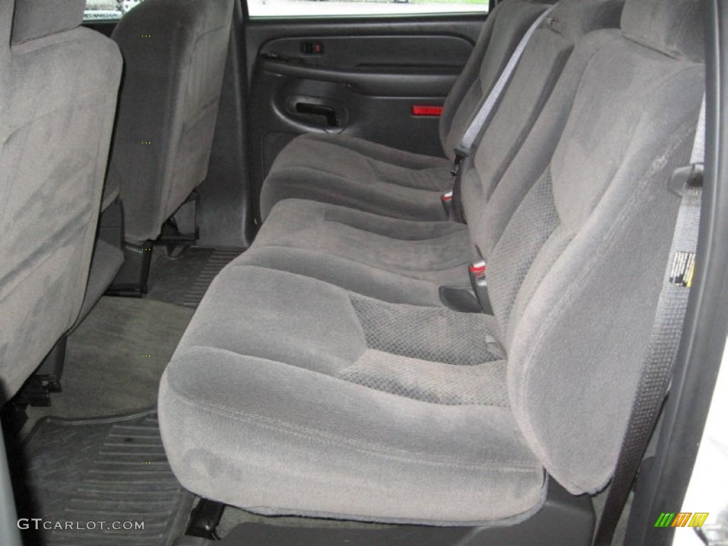 2005 Silverado 3500 LS Crew Cab 4x4 Dually - Summit White / Dark Charcoal photo #16
