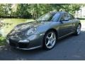 Meteor Grey Metallic 2010 Porsche 911 Carrera Coupe