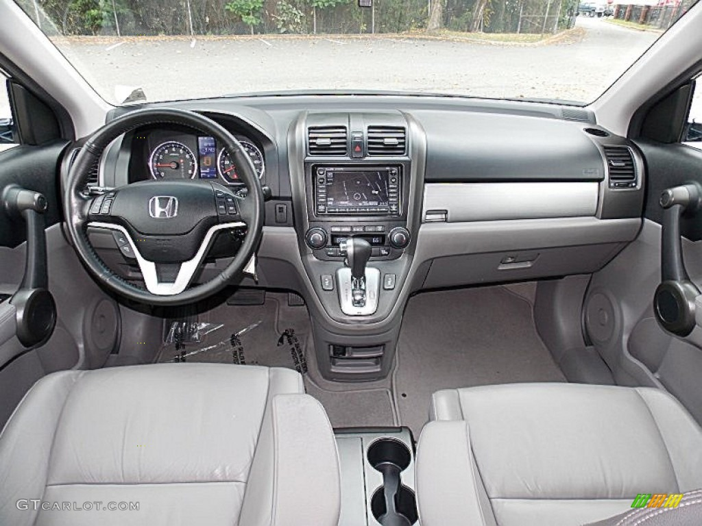2011 CR-V EX-L 4WD - Royal Blue Pearl / Gray photo #14