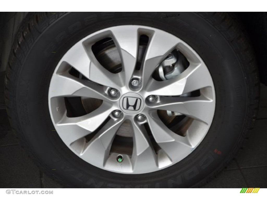 2014 CR-V EX-L AWD - Alabaster Silver Metallic / Gray photo #3