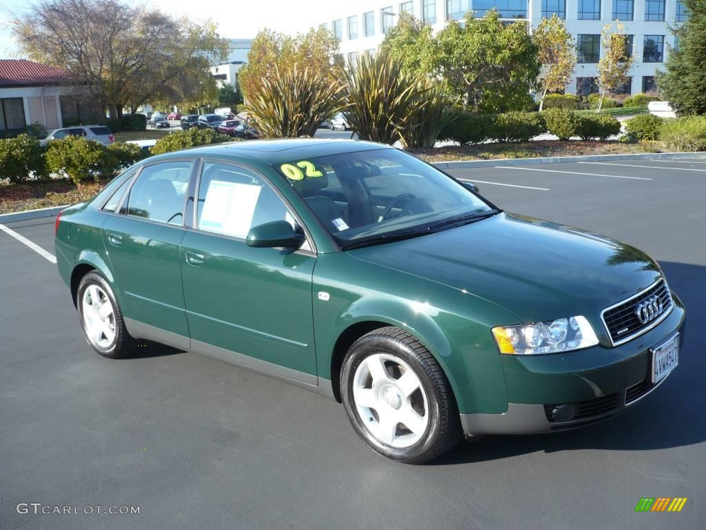 2002 goodwood green pearl effect audi a4 1 8t quattro sedan 963419 car color. Black Bedroom Furniture Sets. Home Design Ideas