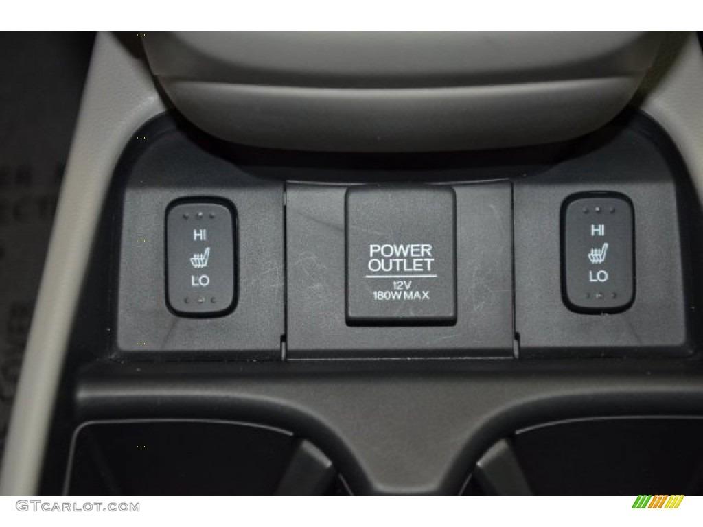 2014 CR-V EX-L AWD - Alabaster Silver Metallic / Gray photo #12
