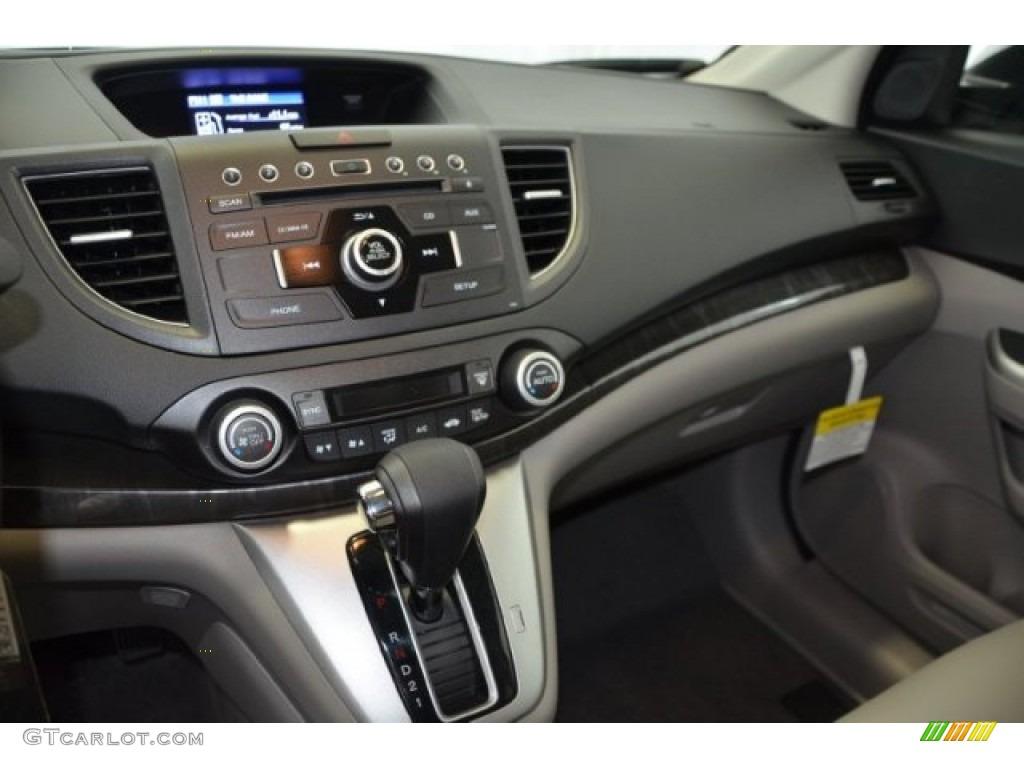 2014 CR-V EX-L AWD - Alabaster Silver Metallic / Gray photo #13