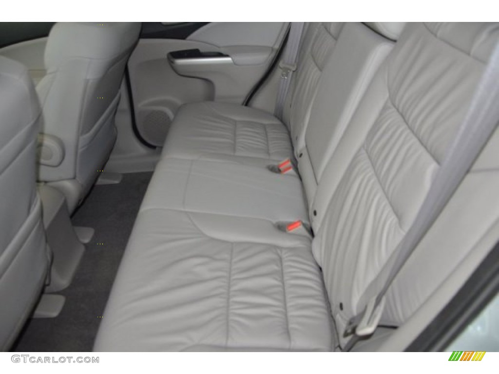 2014 CR-V EX-L AWD - Alabaster Silver Metallic / Gray photo #21