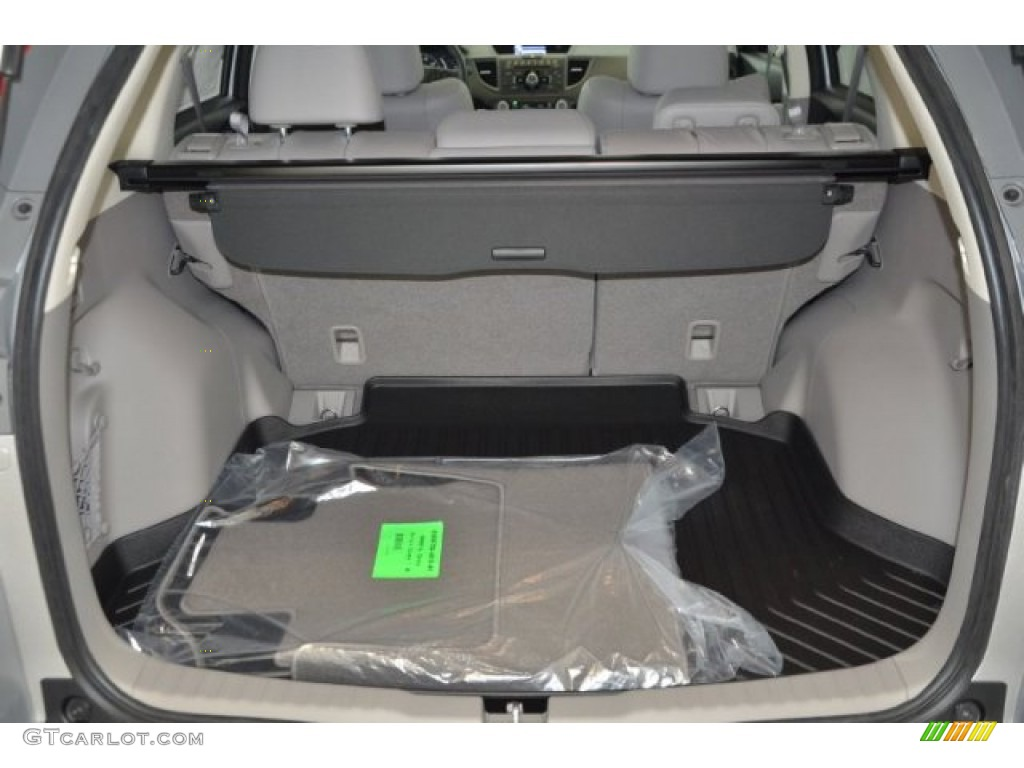 2014 CR-V EX-L AWD - Alabaster Silver Metallic / Gray photo #22