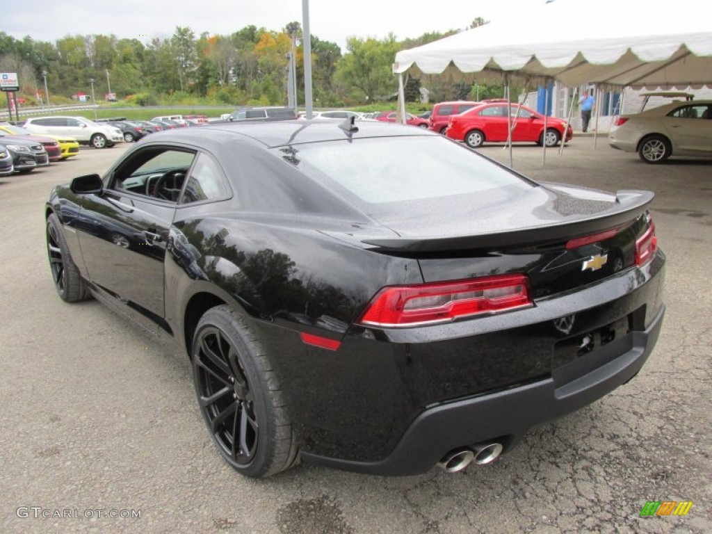 Camaro Rs 2015 >> 2015 Black Chevrolet Camaro Ss Rs Coupe 97971425 Photo 4