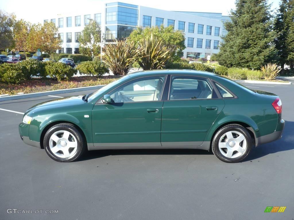 2002 Goodwood Green Pearl Effect Audi A4 1 8t Quattro Sedan 963419 Photo 6 Gtcarlot Com