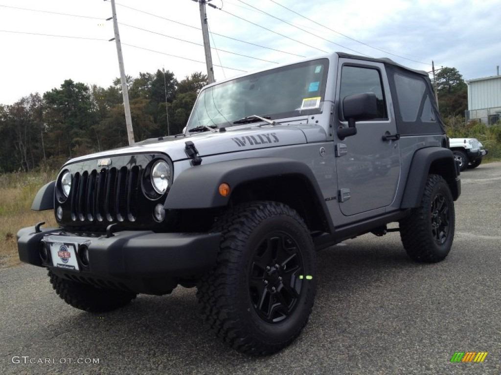 2015 billet silver metallic jeep wrangler willys wheeler 4x4