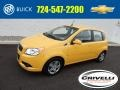 2009 Summer Yellow Chevrolet Aveo Aveo5 LT #97971654