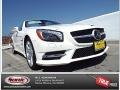 designo Diamond White Metallic 2015 Mercedes-Benz SL 550 Roadster