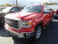 Fire Red 2015 GMC Sierra 1500 SLT Crew Cab 4x4