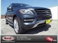 Steel Grey Metallic 2015 Mercedes-Benz ML 350 4Matic