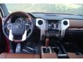 1794 Edition Premium Brown Leather Dashboard Photo for 2015 Toyota Tundra #98022928