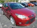 Ruby Red 2014 Ford Focus SE Hatchback