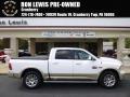Bright White 2014 Ram 1500 Laramie Longhorn Crew Cab 4x4