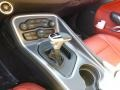 2015 Dodge Challenger Black/Ruby Red Interior Transmission Photo
