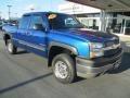 2003 Arrival Blue Metallic Chevrolet Silverado 2500HD LS Extended Cab 4x4 #98016981