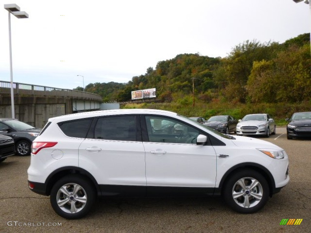 2015 Oxford White Ford Escape Se 4wd 98053421 Gtcarlot