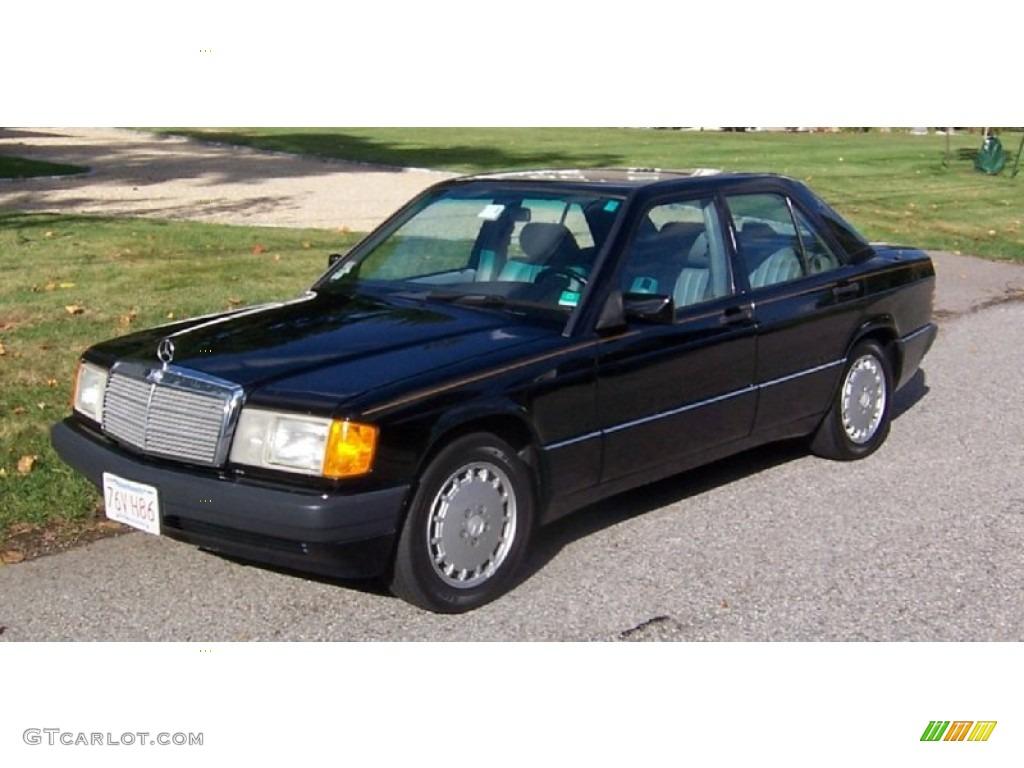 1992 black mercedes benz 190 class 190e 2 6 98053879 for 1992 mercedes benz 190e 2 6