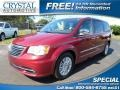 Deep Cherry Red Crystal Pearl 2012 Chrysler Town & Country Limited